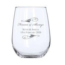 Flourish Stemless Wine Glass