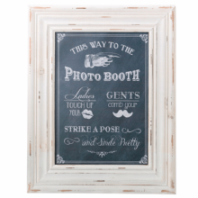 Photo Booth Frame Sign