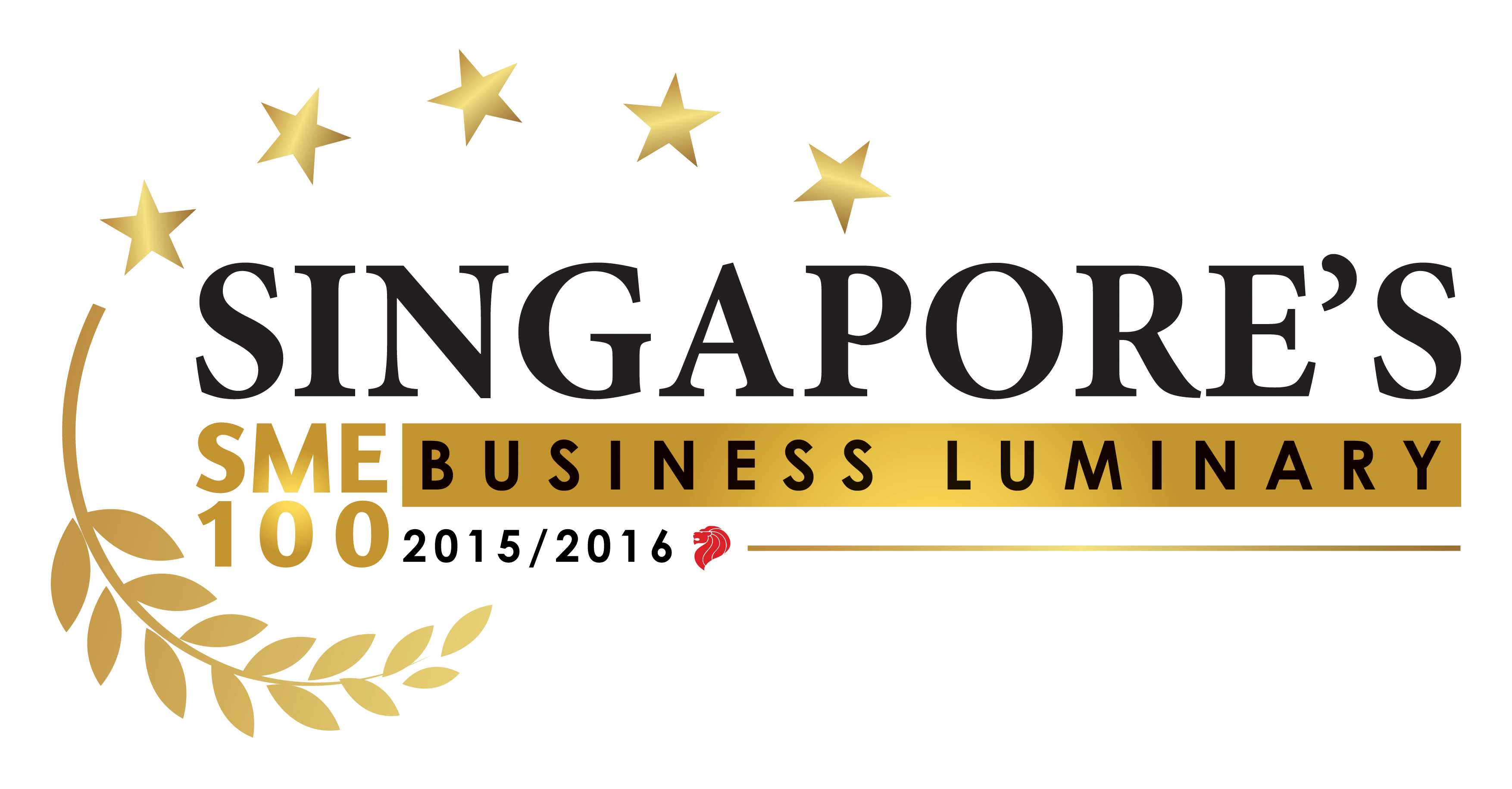 Singapore's SME 100 Business Luminary Award Logo